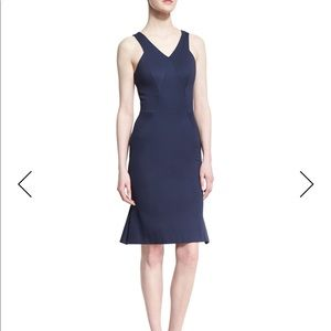 New Zac Posen navy dress Size 4